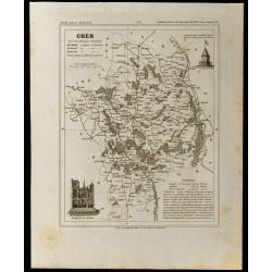 1833 - Département du Cher