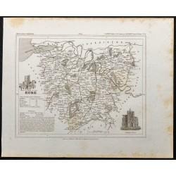 1833 - Département de l'Eure