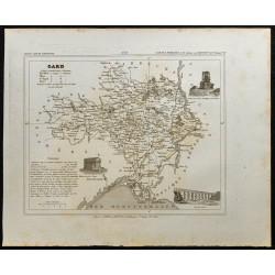 1833 - Département du Gard