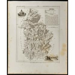 1833 - Département du Jura