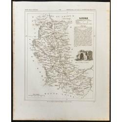 1833 - Département de la Loire