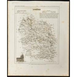 1833 - Département de Lozère