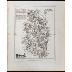 1833 - Département de la Meuse