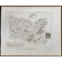1833 - Département de l'Oise