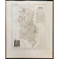 1833 - Département du Rhône