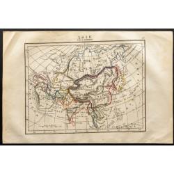 1843 - Carte de l'Asie...