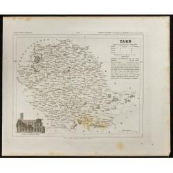 1833 - Département du Tarn