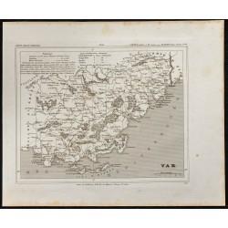 1833 - Département du Var