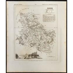 1833 - Département des Vosges