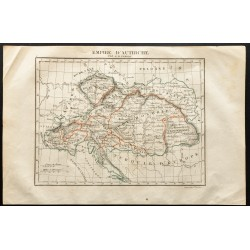 1843 - Carte de l'Empire...