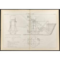 1884 - Excavateur du canal...
