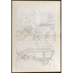 1884 - Plan du port de Québec