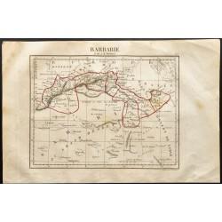 1843 - Carte la Barbarie...