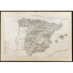 1884 - Carte géologique et...