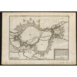 1694 - Plan ancien d'Arras
