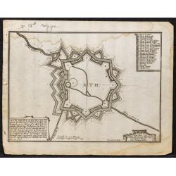 1695 - Plan ancien de Ath