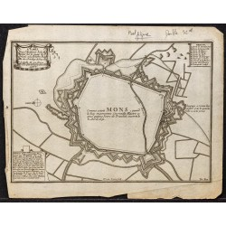 1705 - Plan ancien de Mons