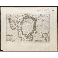 1695 - Plan ancien de Mons