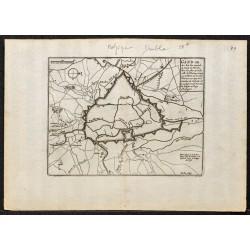 1695 - Plan ancien de Gand