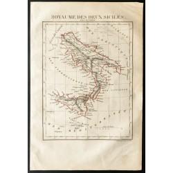 1843 - Carte du Royaume des...