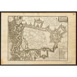 1695 - Plan ancien de Cambrai