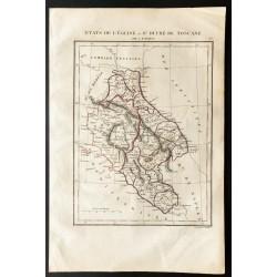 1843 - Carte du Vatican et...