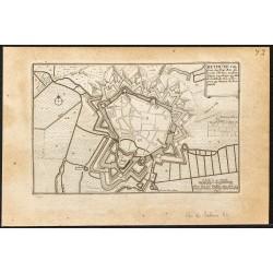 1695 - Plan ancien de Béthune