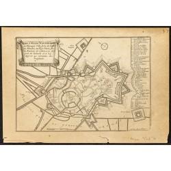 1705 - Plan ancien de Bergues