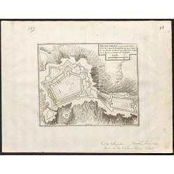 1695 - Plan ancien du Fort...