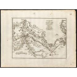 1694 - Carte du Canal de...