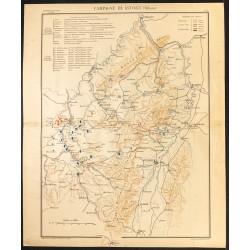 1888 - Est de la France en...