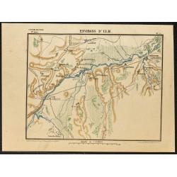 1887 - Environs d'Ulm en...
