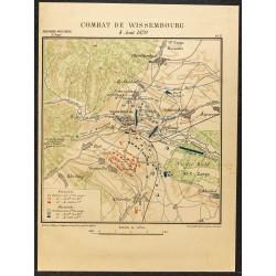 1886 - Bataille de Wissembourg