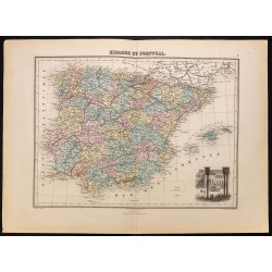 1884 - Espagne et Portugal