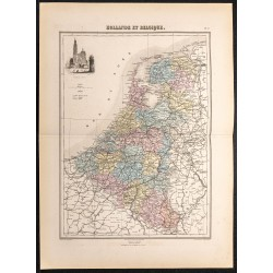 1884 - Hollande et Belgique