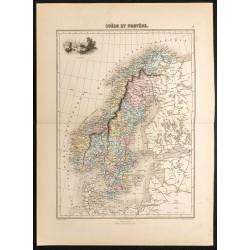 1884 - Suède et Norvège