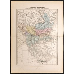 1884 - Péninsule des Balkans