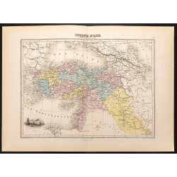 1884 - Turquie d'Asie