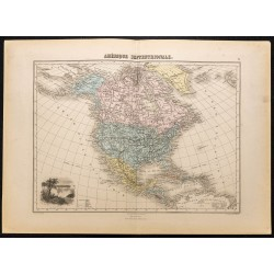 1884 - Amérique septentrionale
