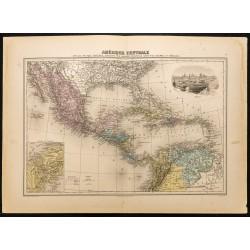 1884 - Amérique centrale