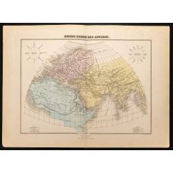 1884 - Monde connu des anciens