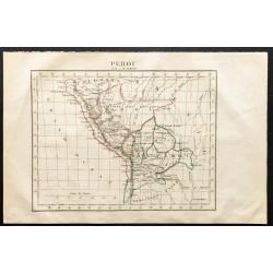 1843 - Carte du Pérou