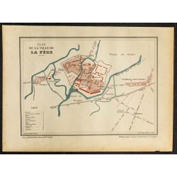 1896 - Plan de La Fère dans...