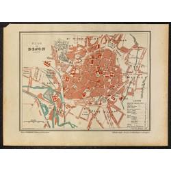 1896 - Plan de Dijon