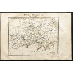 1843 - Carte des États...