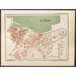1896 - Plan d'Oran