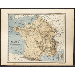 1896 - Carte de France...