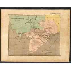 1896 - Carte de la...