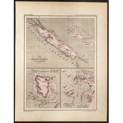1896 - Carte de la Nouvelle...