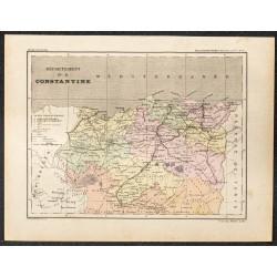 1896 - Carte du Département...
